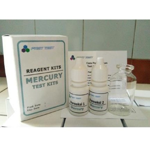 MERCURY TEST KIT ALAT LABORATORIUM UMUM