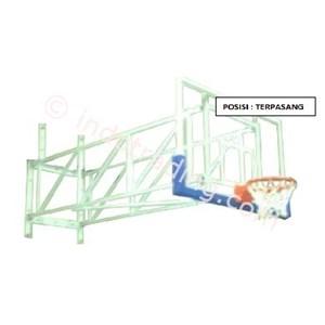 Wall Mounted Basket Folded Cbn Wmf (Ring Basket Terpasang Di Dinding Melipat)