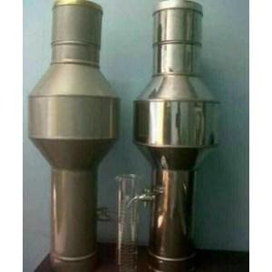 Alat Laboratorium Umum Rain Gauge Alat Ukur Curah Hujan atau Obrometer Stainless