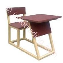 Meja Kursi Ekonomi 1 Mke 1 (Meja Dan Kursi Untuk Siswa Belajar Dalam Kelas)