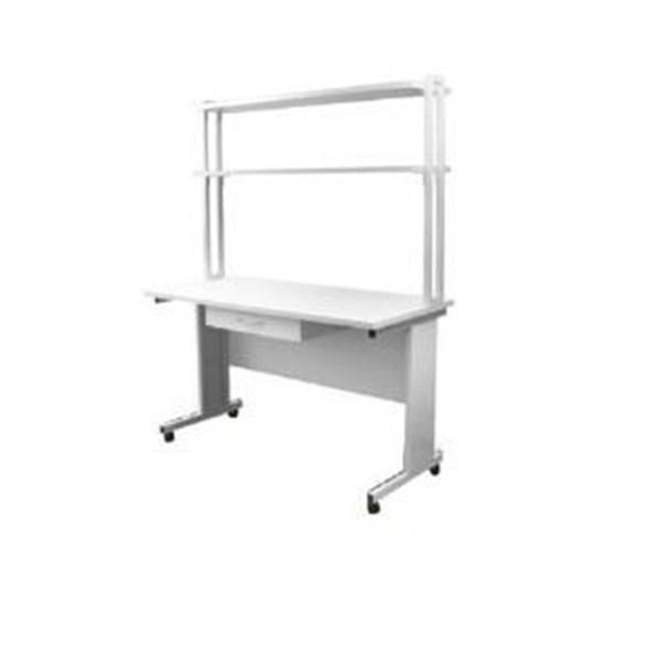 Meja dan Kursi Sekolah Laboratorium 0103 dengan rack