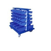 Tray Trolley Mobile Rack Container 2