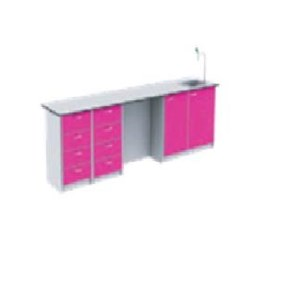 Meja Laboratorium Wall Bench 0W02-PR6 Alas Meja Kerja Phenolic Resin 6 mm