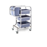 Tray Trolley Multipurpose Trolley Instrument Stainless Steel 201