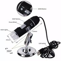 Digital Digital Microscope 1000x 2MP 8LED USB 1000x zoom Digital Microscope Endoscope Mikroskop USB