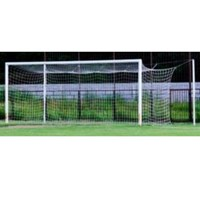 Peralatan Olahraga Outdoor Tiang Tanam Gawang Sepak Bola Besar