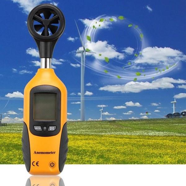 Alat Laboratorium Umum Digital Anemometer Wind Speed Measurement HT-81 Ukur Kecepatan Angin