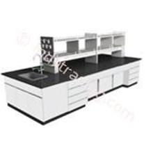 Island Bench Tipe Isb 5 ( Meja Tengah Laboratorium