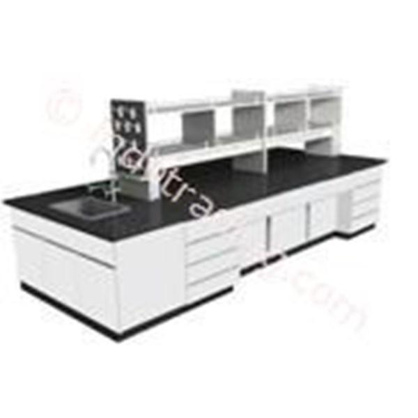 Island Bench Tipe Isb 5 ( Meja Tengah Laboratorium )