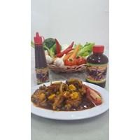 Jual Oleh oleh Khas Surabaya Bumbu Saus Inggris Hot Melotot Ukuran Kecil
