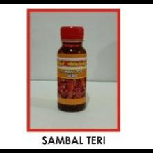 Oleh oleh Khas Surabaya Sambal Teri Jawa Hot Melotot