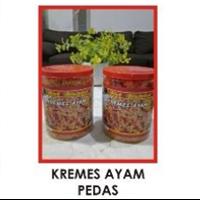 Jual Oleh oleh Khas Surabaya Kremes Ayam Pedas Hot Melotot