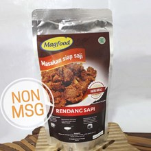 MAGFOOD RENDANG NON MSG 225 GRAM