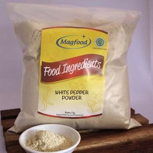 MAGFOOD WHITE PEPPER POWDER BERAT 1 KG