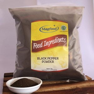 MAGFOOD BLACK PEPPER POWDER BERAT 1 KG