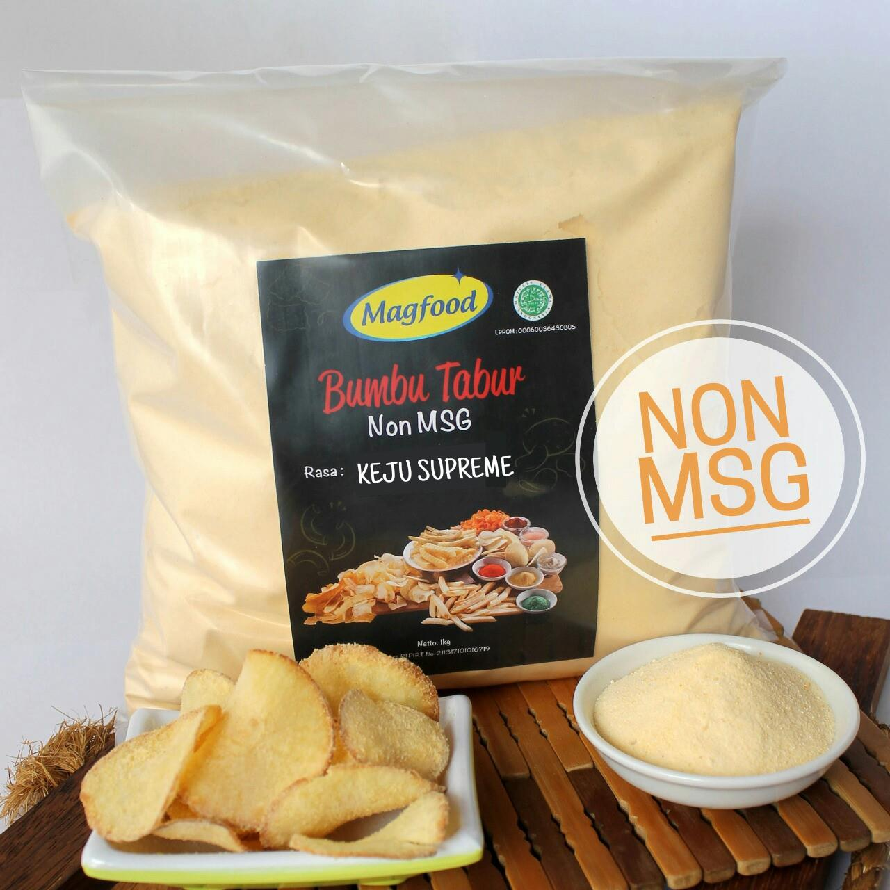 Sell Magfood Cheese Supreme Non Msg Packaging Plastic 1 Kg From Bumbu Tabur Pedas Manis 1kg Indonesia By Female Foodpreneurcheap Price