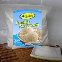 MAGFOOD PREMIX ICE CREAM VANILA 960 GRAM