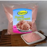 MAGFOOD PREMIX ICE CREAM STAWBERRY 960 GRAM