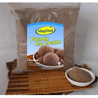 MAGFOOD PREMIX ICE CREAM CHOCOLATE 960 GRAM 1