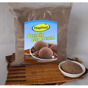MAGFOOD PREMIX ICE CREAM CHOCOLATE 960 GRAM