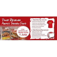 PAKET RESELLER FROZEN FOOD