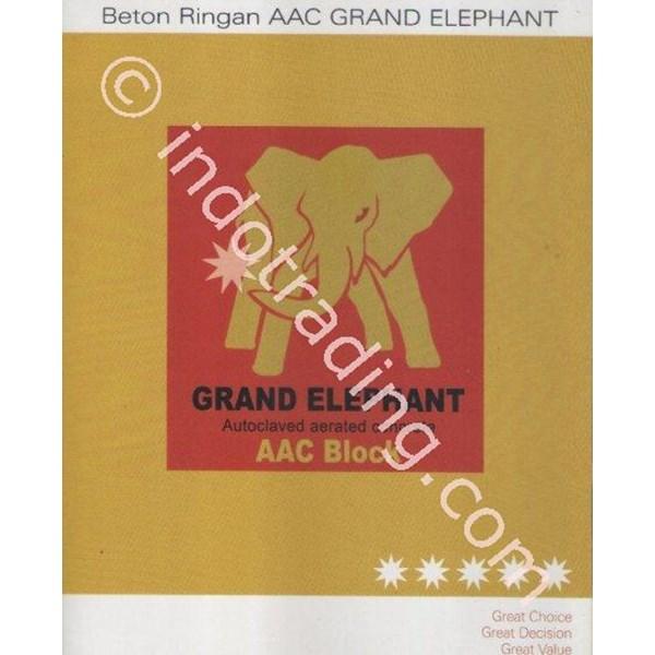 Batu Bata Ringan - Grand Elephant