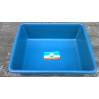 Bak Segi plastik deluxe warna biru merk tms 1