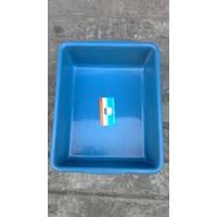 Distributor Bak Segi plastik deluxe warna biru merk tms 3