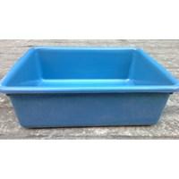 Beli Bak Segi plastik deluxe warna biru merk tms 4
