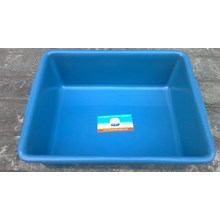 Triangle plastic tub deluxe brands blue tms