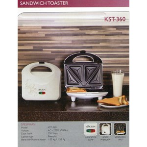 alat pemanggang Sandwich kirin KST 360