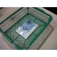 Jual  Tempat surat segi bahan plastik merk Neoplast. 2