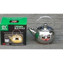 Teko kettle air bahan stainless steel ukuran 14cm