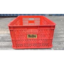 Keranjang industri krat plastik neobox.