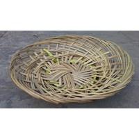Piring Anyaman Lidi Bambu 1