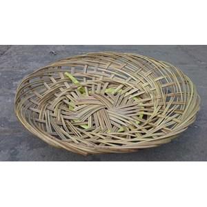 Piring Anyaman Lidi Bambu
