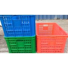 Keranjang industri krat plastik merk rabbit no 2007