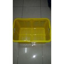 Keranjang plastik industri krat A006