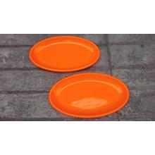 Piring Oval Plastik Golden Sunkist pi8006