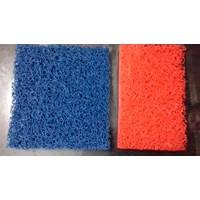 Synthetic Coil Mat roll atau keset karet mie merk AMCO