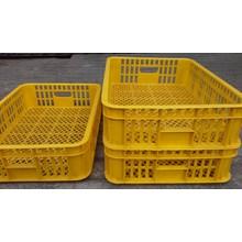 Keranjang industri krat plastik merk Jl kecil warna kuning