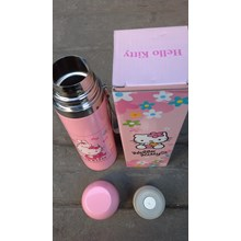 Thermos Stainless Hello kitty warna pink