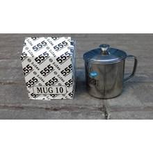 Mug stainless 555 ukuran 10