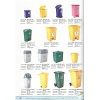 Tempat Sampah Plastik Maspion (Injak  Roda) 1