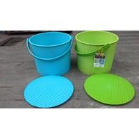 Jual Plastic Round container merk Lucky Star kode 3031 2