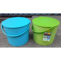 Distributor Plastic Round container merk Lucky Star kode 3031 3