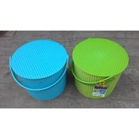 Plastic Round container merk Lucky Star kode 3031 1