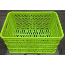 Super Strong (Super Kuat brand) plastic baskets green