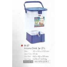produk  plastik rumah tangga Drink jar Arizona 20 liter dan 27 liter merk Lion star