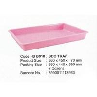 Distributor produk plastik rumah tangga Nampan segi plastik besar SDC tray merk maspion kode bb018 3
